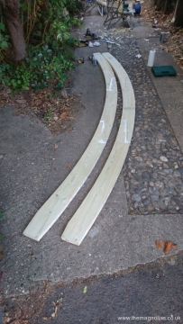 Two arches built
