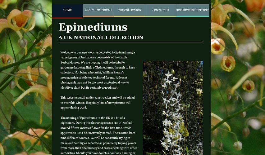 Epimedium Website