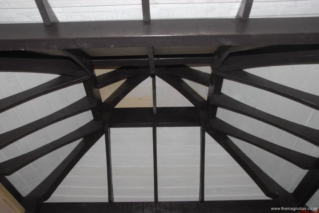 inside of roof - 3rd Oct