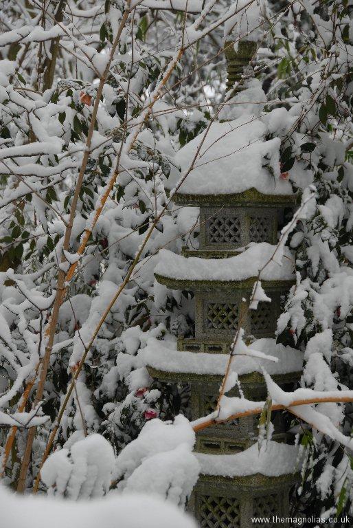 Snowy Pagoda
